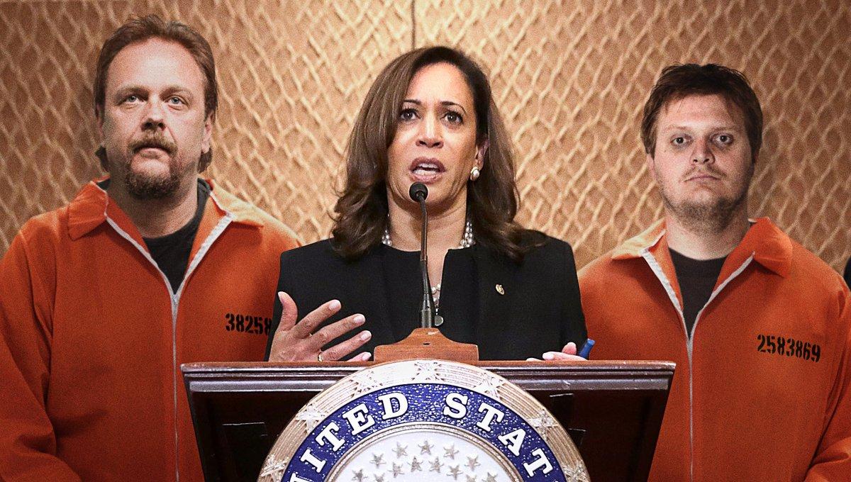 Kamala Harris Assembles Campaign Staff Of Unpaid California Prison Laborers https://t.co/t3ctLD1zJa