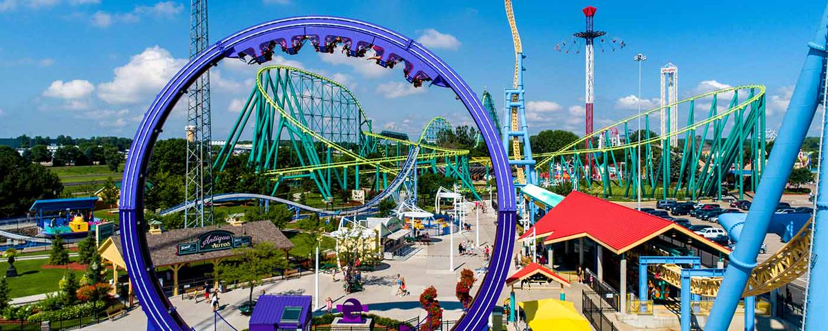 Congrats to @ValleyfairMN on having their new ride, Delirious, named a  top-10 Best New Amusement Park Attraction! We're already counting down the  days until ...