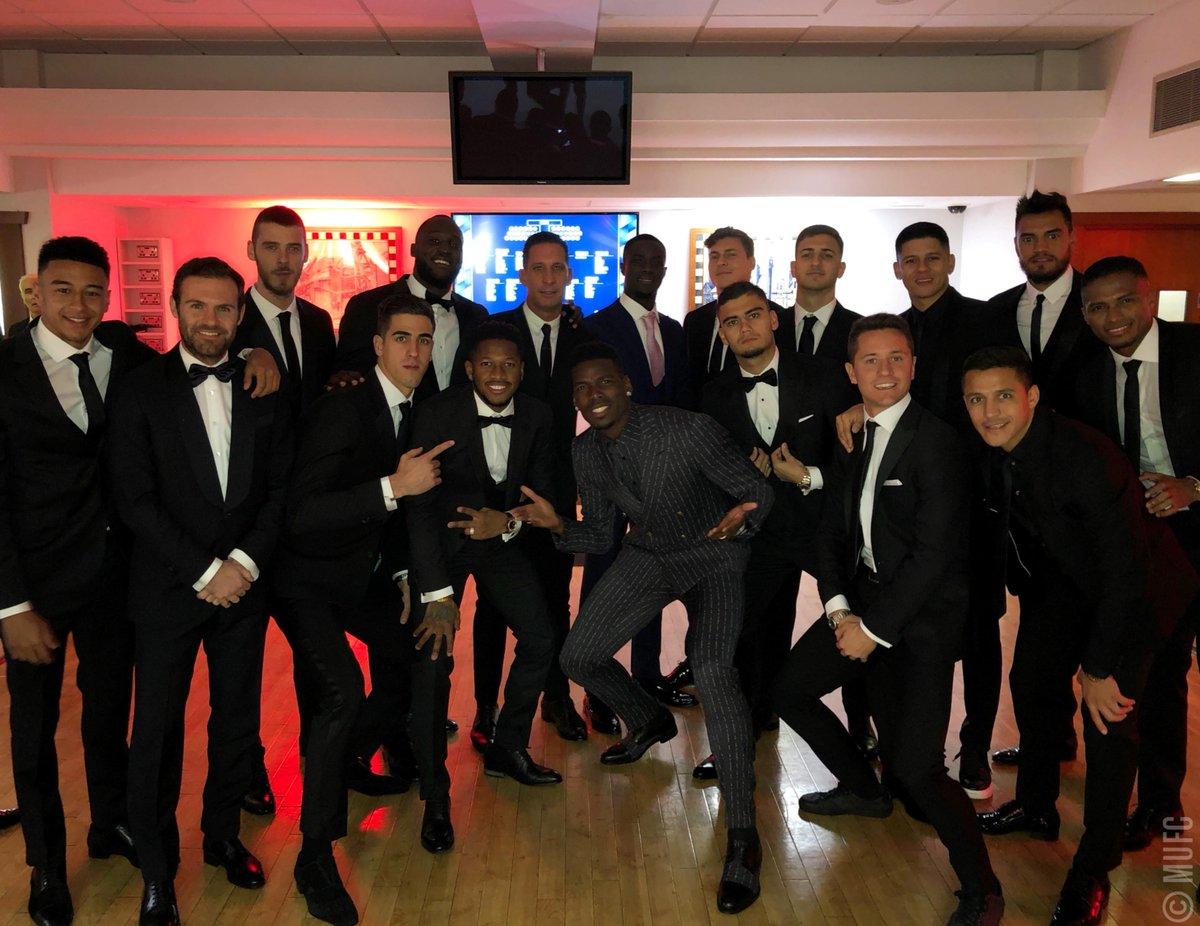 Squad. 😎 #United4UNICEF #MUFC
