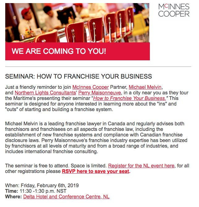 dating franchise canada