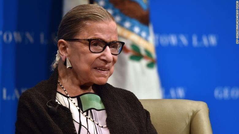 US Supreme Court Justice Ruth Bader Ginsburg was in good spirits and 'sounded strong and cheerful' following news that the film 'RBG' received an Oscar nomination for Best Documentary, the filmmakers say https://t.co/zAFddfpd1S