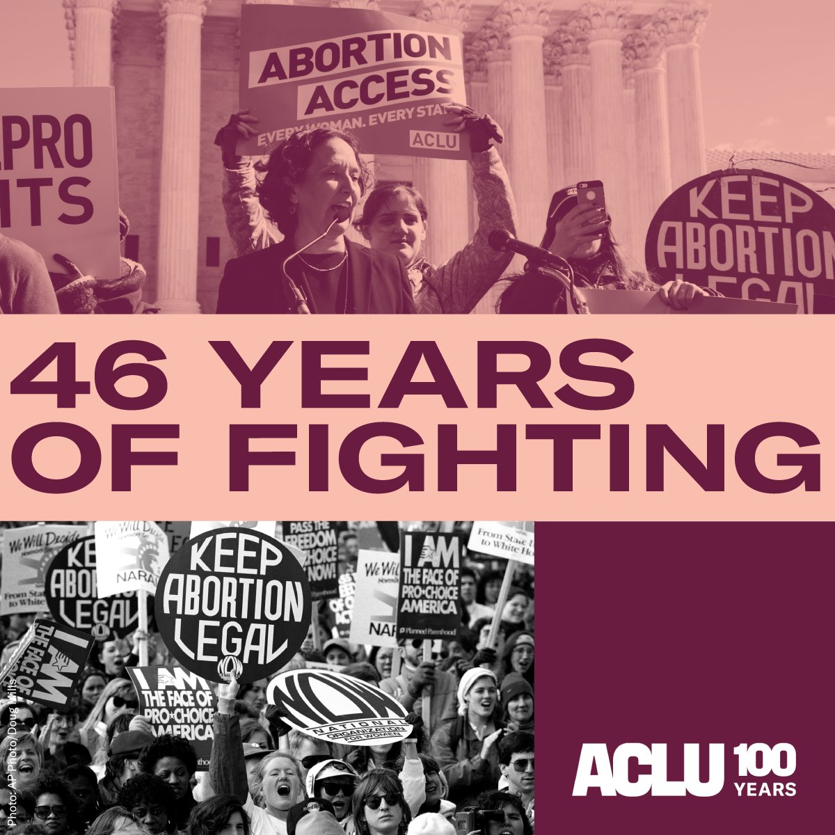 Today we reflect on 46 years of abortion rights, thanks to Roe v. Wade.  Reproductive freedom — including whether or not to become a parent — is a basic right and part of living a safe and healthy life.