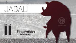 #BetaPolítico #Jabalí parte 2 #22ene https://t.co/5j8Td9tROG