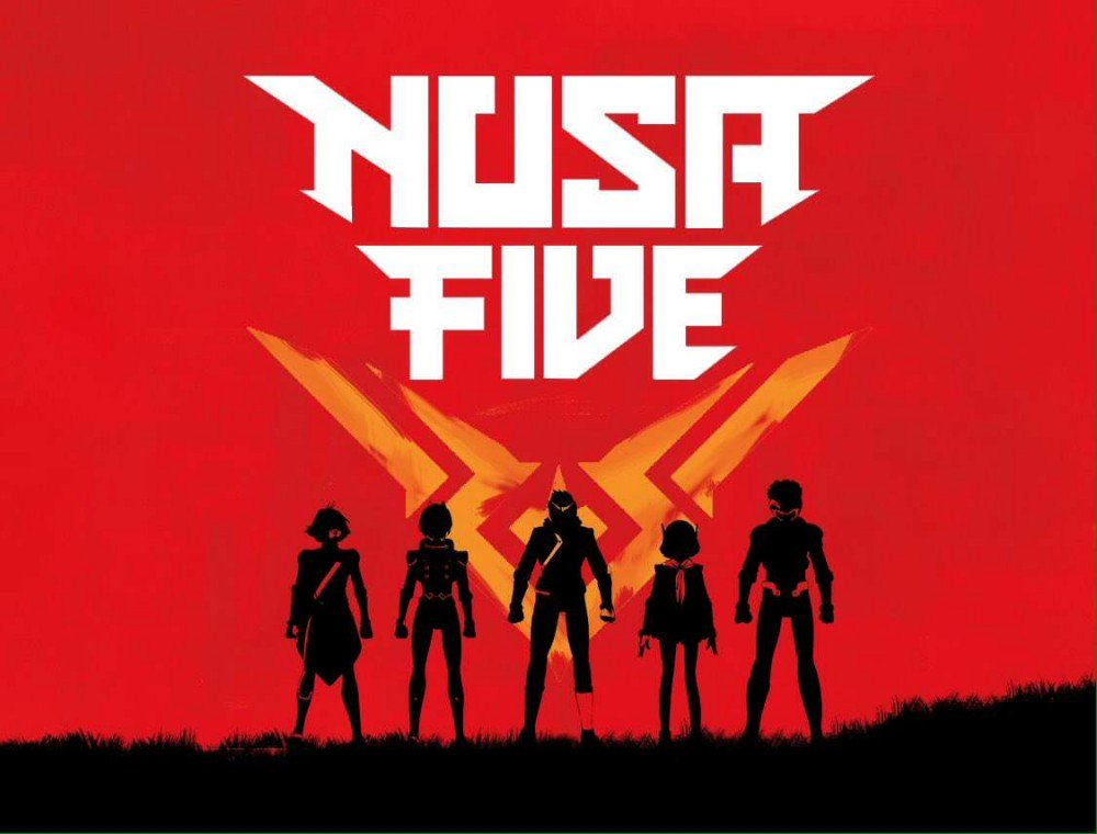 An exciting new title, #NUSAFIVE, coming to you in March 2019!   Stay tuned for updates! 🤩  @NusaFive @SwetaKartika #manga