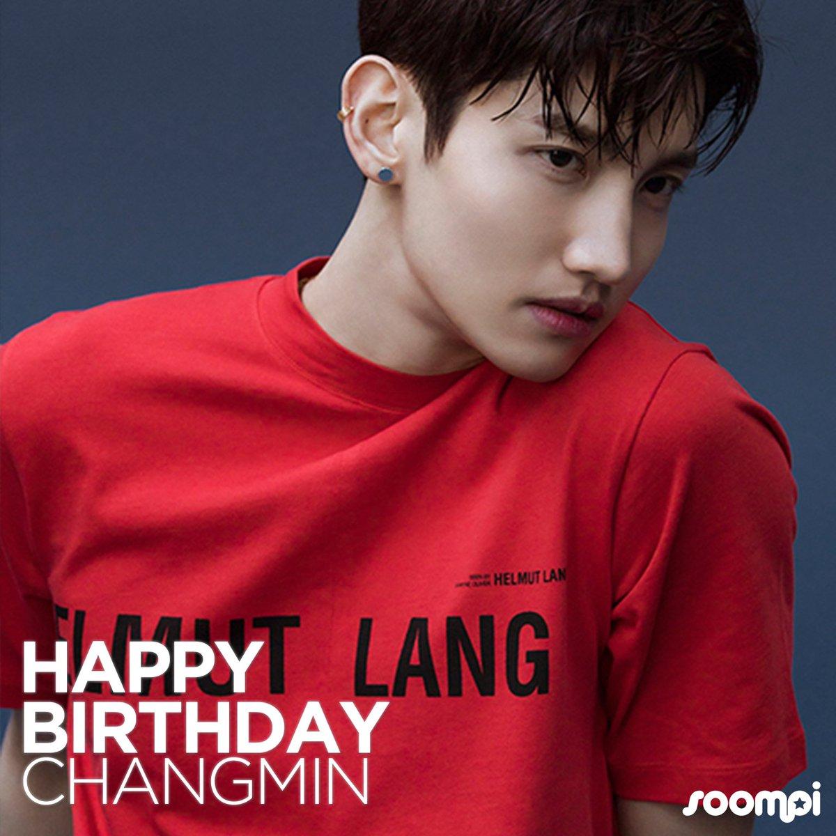 Soompi's photo on #HappyChangminDay