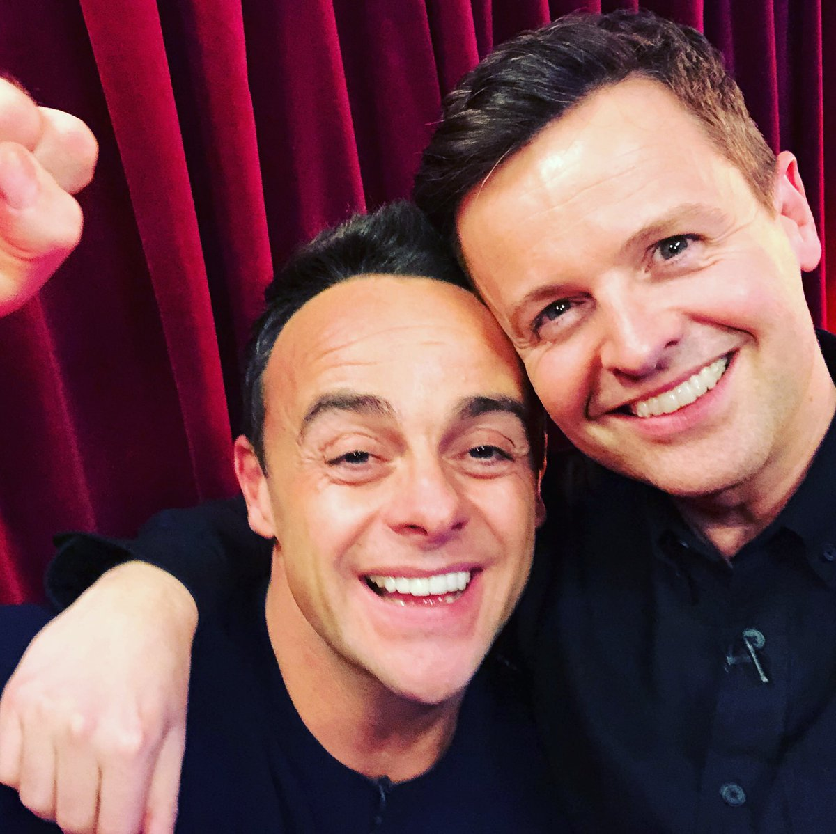 Thank you doesn't seem to cover it this year. We are humbled and honoured. We are so appreciative of your continued support and good wishes, they are never taken for granted. Thank u again. Now back to #BGT auditions! D x  #NTAs