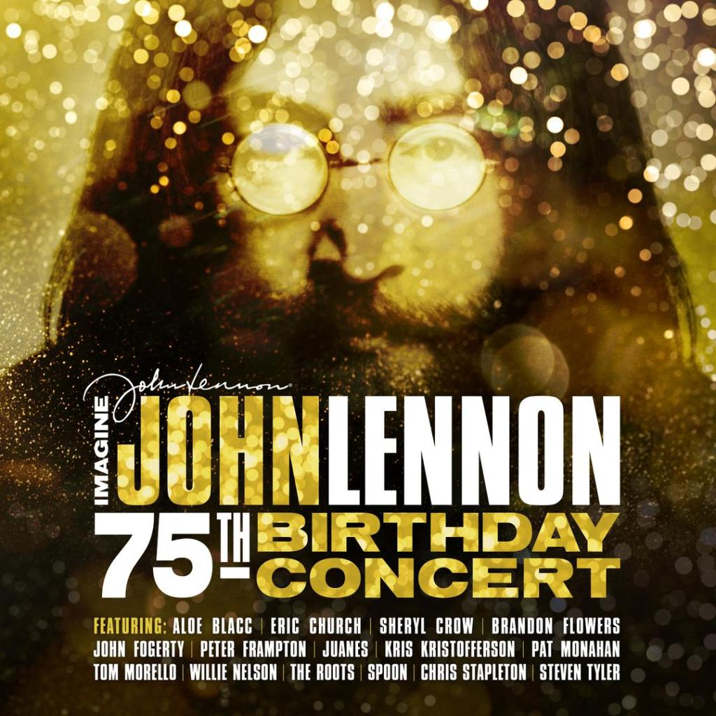 'Imagine: @johnlennon 75th Birthday Concert' gathers remarkable performances by @IamStevenT, @BrandonFlowers, @ericchurch, @aloeblacc, @SherylCrow, and @willienelson among others. Spin the tribute here: https://t.co/l7Z998hs7M