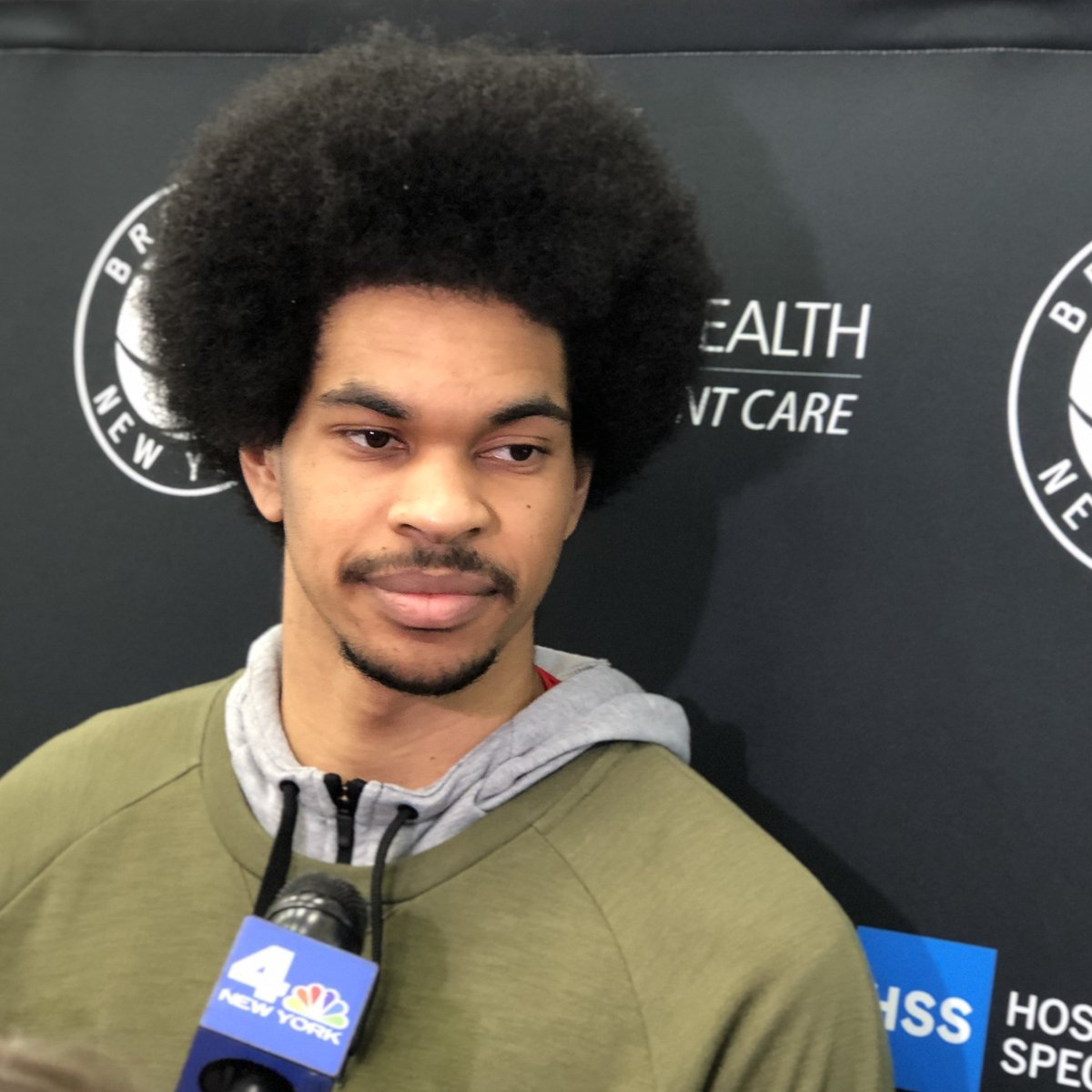 .@JarrettAllen55 on tomorrow's rematch with the Magic:   'They're going to come in with the mindset of a revenge game. So we have to come in preparing the right way.'