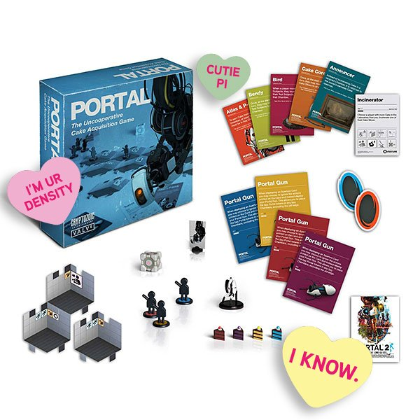This Valentine's Day, solve puzzles and seek out cake with that special someone <3 Portal: The Uncooperative Cake Acquisition Game (Includes digital copy of Portal 2 on PC for free!): http://bit.ly/2R5TSVi