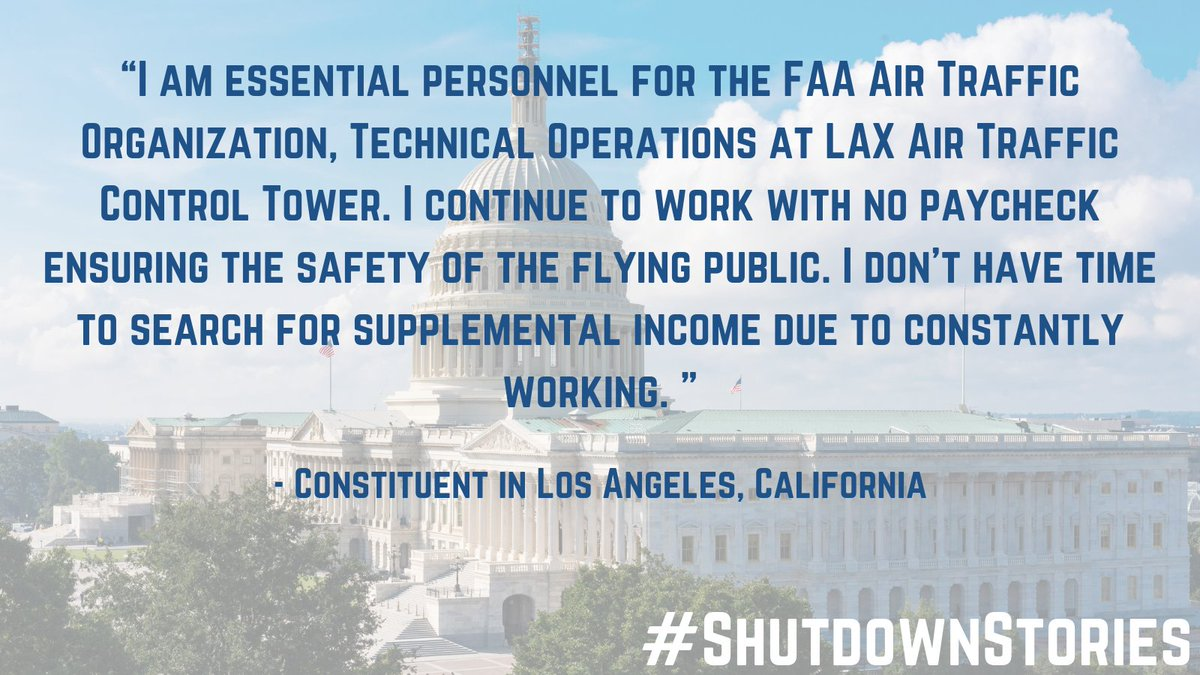 Government shutdowns should never be used as a negotiating tool. Their effects are too harmful, as we're seeing with the 800,000 federal employees and contractors who are about to miss another paycheck.