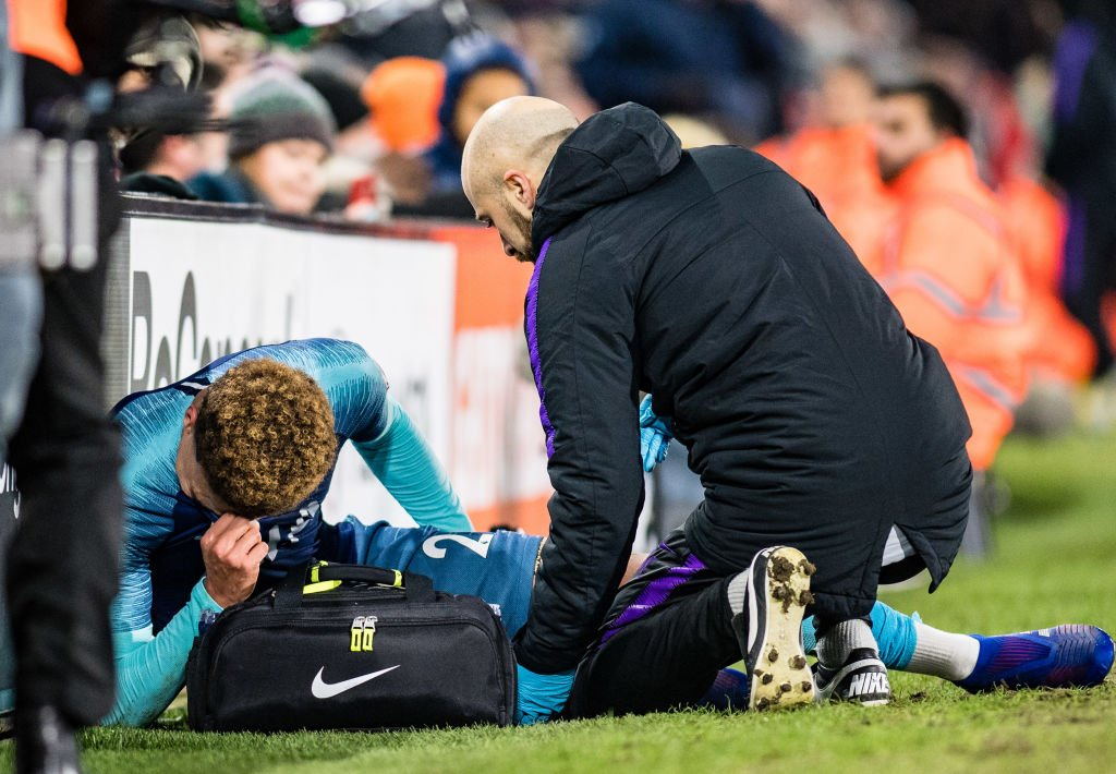 Dele Alli is out until early March after scans revealed a hamstring strain.  https://t.co/ptk6VJjeC5