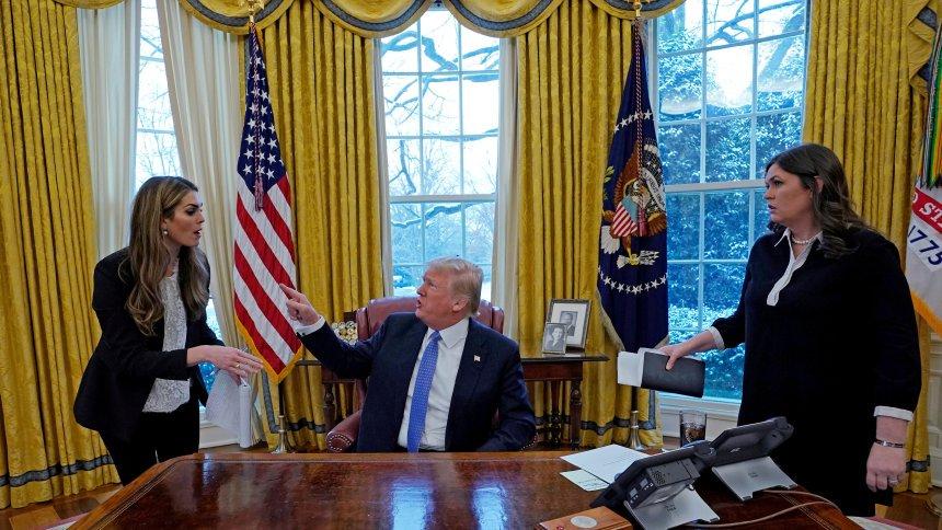 Kommunikation im Weißen Haus: Trump stellt Pressekonferenzen infrage https://t.co/JVUjXFpxH2