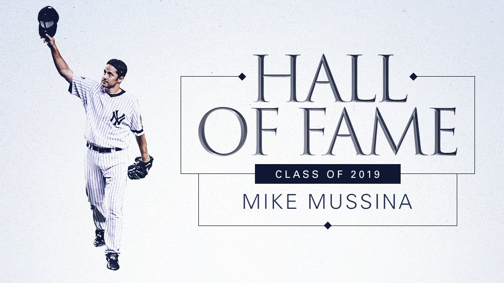 MOOOOOOOOOOOOOSE.  Mike Mussina is officially a Hall of Famer. #HOF2019
