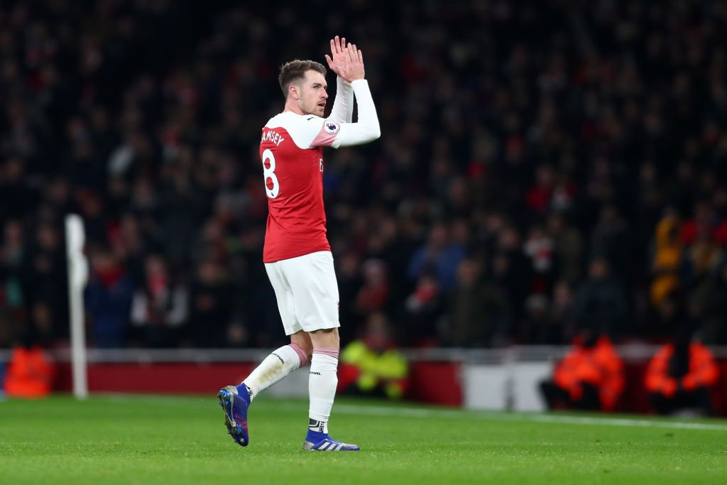 Aaron Ramsey's ticket to Juventus reportedly depends if Arsenal can land their two targets.  Gossip: https://t.co/hceXZLkjbC