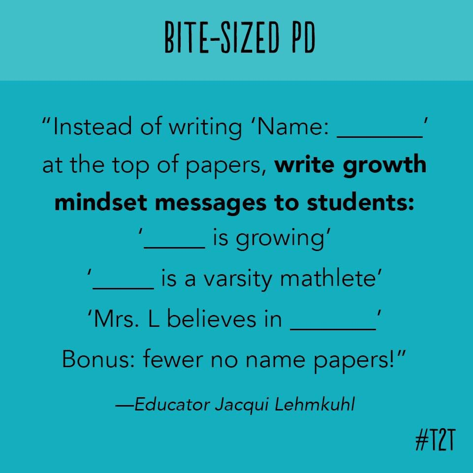 So much yes! Love this #growthmindset idea!!