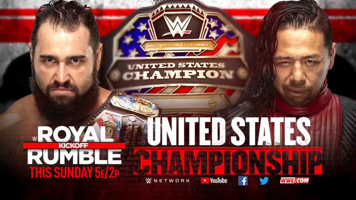 WWE Moves Two Matches To The Royal Rumble Pre-Show