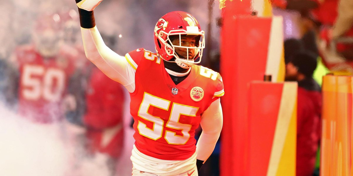 13 regular-season sacks and set to be a coveted free agent.  Will he remain in KC? https://t.co/hP7UzsOXy1