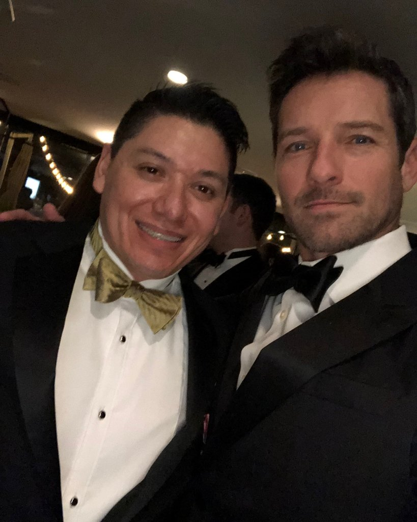 Juan, our Assistant Director, ran into @IanBohen at the 4th Annual Veterans Awards! You may recognize Ian from his role as Peter Hale on MTV's @TeenWolf or the new series @yellowstone_tv! #Vettys