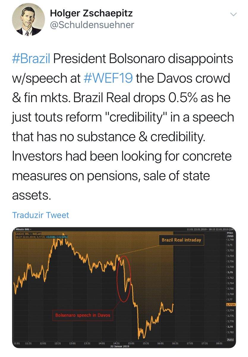 Discurso do Bolsonaro foi tão BOSTA q conseguiu causar um estrago desse tamanho. 6 minutos amigos. 6 minutos q resultaram nisso: