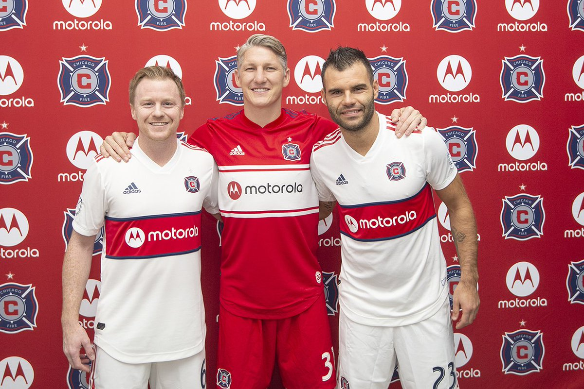 Chicago Fire Fc On Twitter Taking The New Kits For A Quick Walk