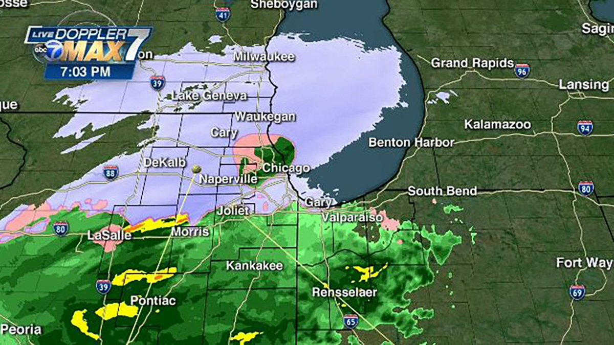Abc 7 Chicago On Twitter Live Radar Snow To Continue In Northern Suburbs Impact Wednesday Morning Commute Https T Co P5fjxg3zkj