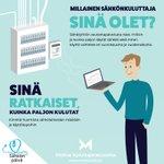 Image for the Tweet beginning: Hyvää huomenta ja #sähkönpäivää! Tiesitkö,