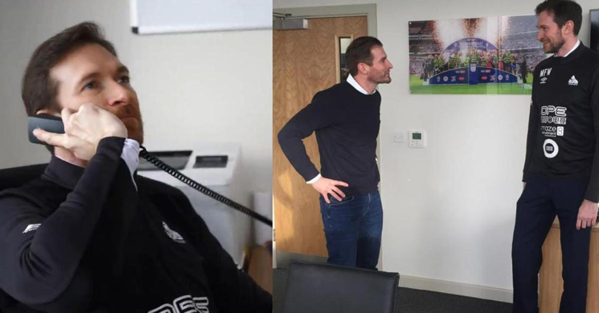 Siewert thanks 'Martin from Wakefield' after lookalike helps with Huddersfield unveiling  https://t.co/3j5P441KEB