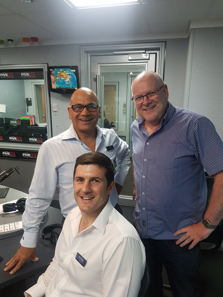 NOW: Bronte Manuel and Kirk Fernandez with @AlanHickey5aa in the studio for Real Estate Radio thanks to @ToopandToop_ taking your calls 82230000