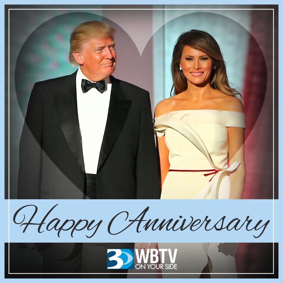 Happy 14th Anniversary to President Donald Trump and First Lady Melania Trump!