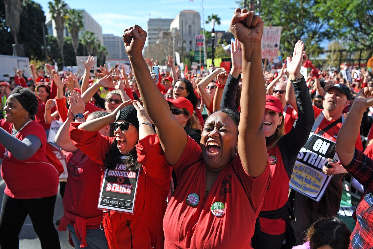 L.A. teachers' strike is over https://t.co/Ay5zSYVtlC