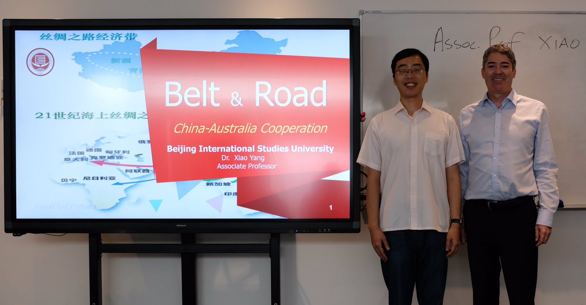 """... """"Road has been more challenging than the Belt""""  China  Australia  """"...are a close-knit community"""" Visiting Research Fellow, Assoc Prof Xiao  Yang, ... aa9fc1f11d"""