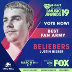 Image for the Tweet beginning: RT to vote for #Beliebers