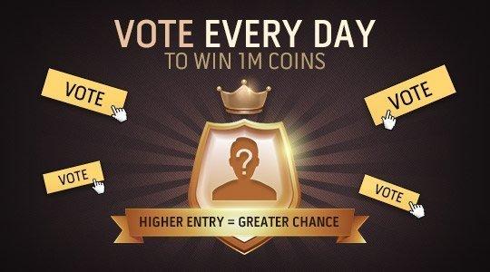 ÚLTIMA CHANCE DE GANHAR 1M COINS !! 🔥 Adivinha quem é o #TOTY pack King!! 🔥 Participe aqui 👉https://toty.igvault.com   Rápido, Rápido, Rápido