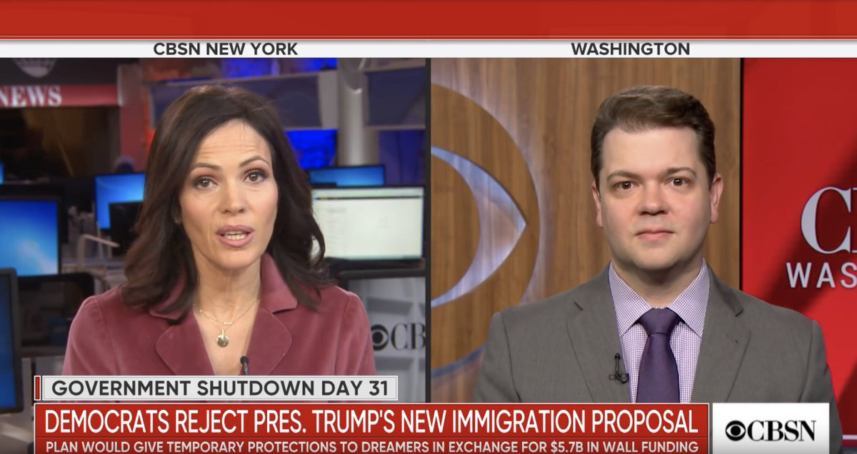 The latest on the government shutdown — @publici's @davelevinthal on @CBSNews.  Watch: https://t.co/DmPMl5EJ2T