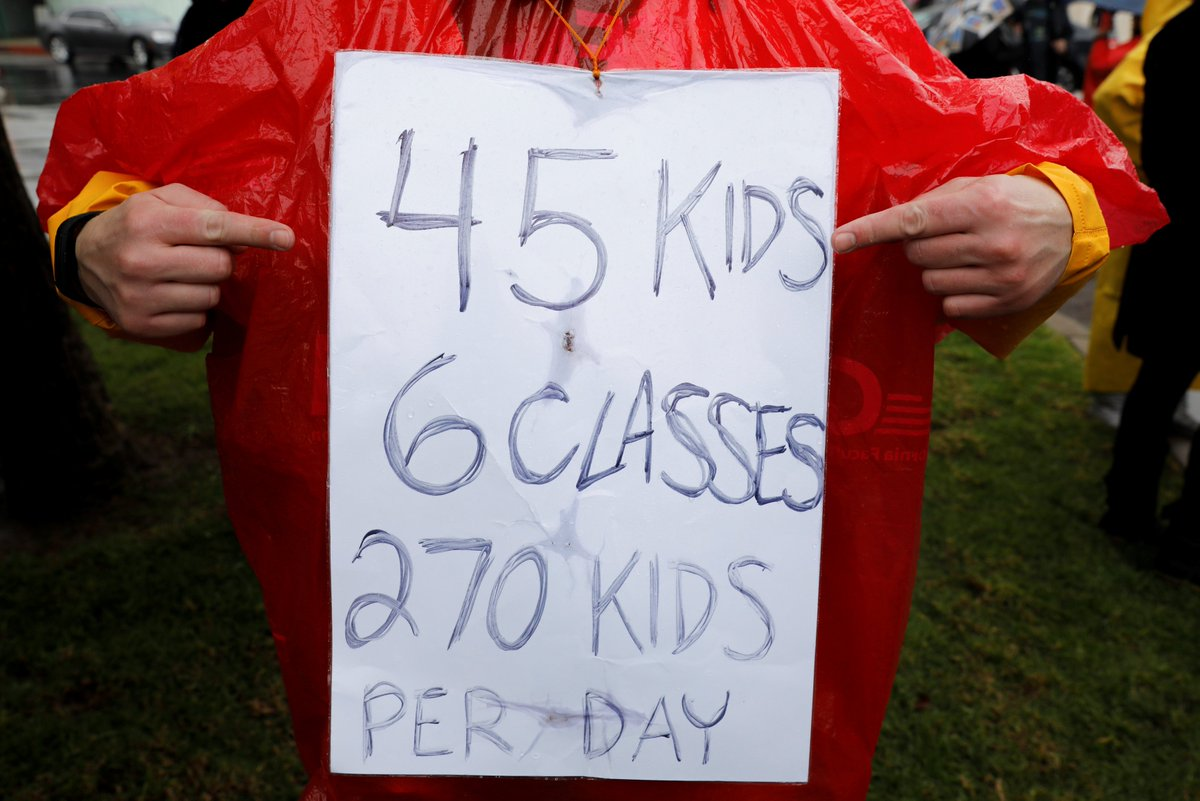 Los Angeles teachers approve contract deal to end strike