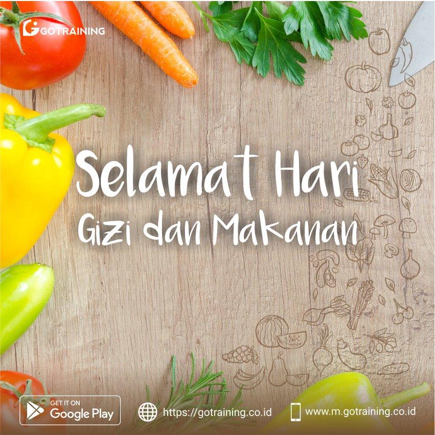 """Selamat Hari Gizi Nasional!  Menurut faktanya, banyak anak-anak di Indonesia masih kekurangan gizi dan makanan yang cukup :""""(   #gotraining #harigizinasional #pagi #makanan #food #online #anakanak #harigizi #HealthyFood #HealthyLife #kelasonline #teen #gayahidup #makanansehat"""