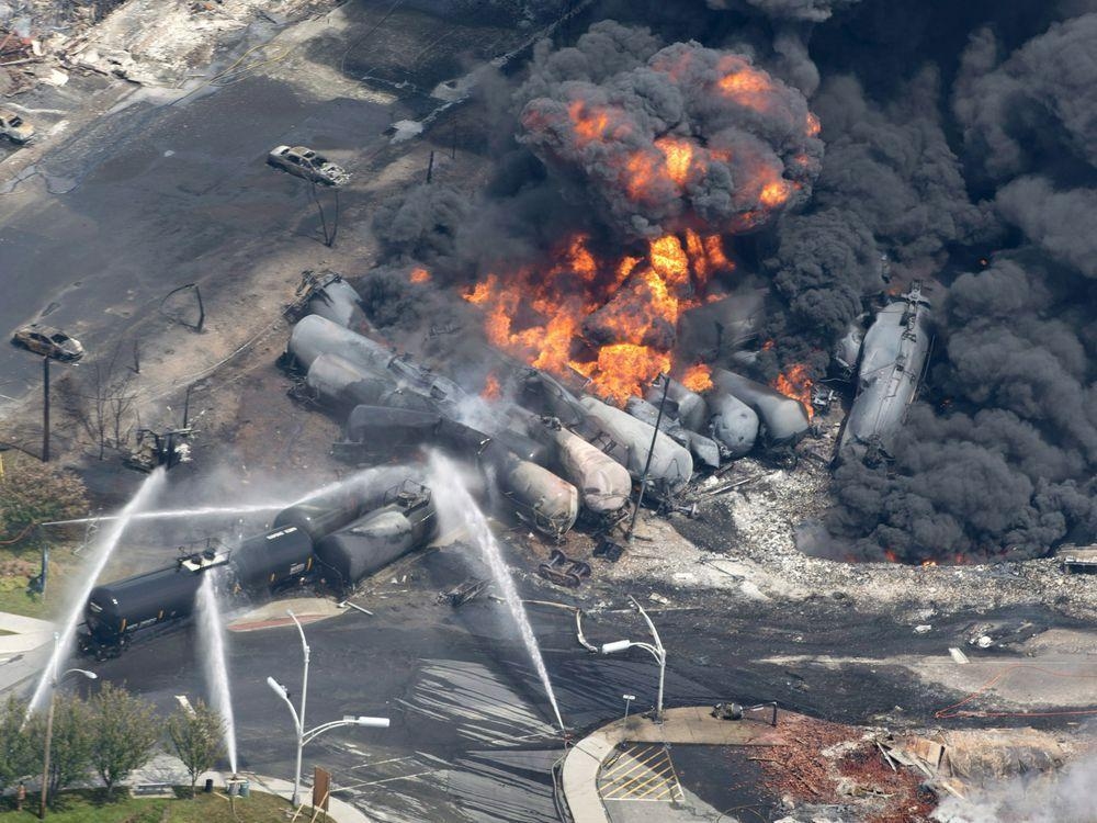 Netflix apologizes for using Lac-Megantic footage in 'Bird Box' http://bit.ly/2AZSEFZ