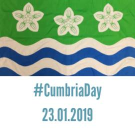 Good Morning from @pyewithay ....Happy Cumbria Day. Good luck all businesses heading down to London to showcase the region later and putting Cumbria on the map @hawksheadrelish @allerdale @tractorshedbrew @ApplebyCreamery
