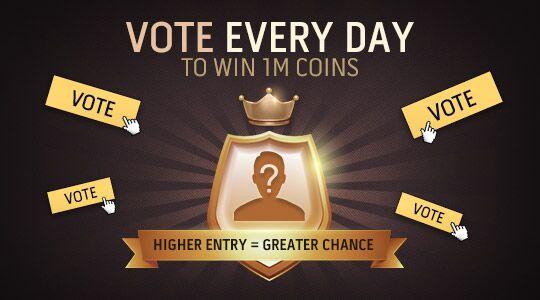 Letzte Chance! noch 1 Stunde!! Vergessen Sie nicht unsere #igvault #TOTY #Gewinnspiele  und raten Sie, wer der #TOTY Pack King ist!   Nehmen Sie am Gewinnspiel teil, um 1M #FIFA19 Coins zu gewinnen.  Hier klicken: https://toty.igvault.com