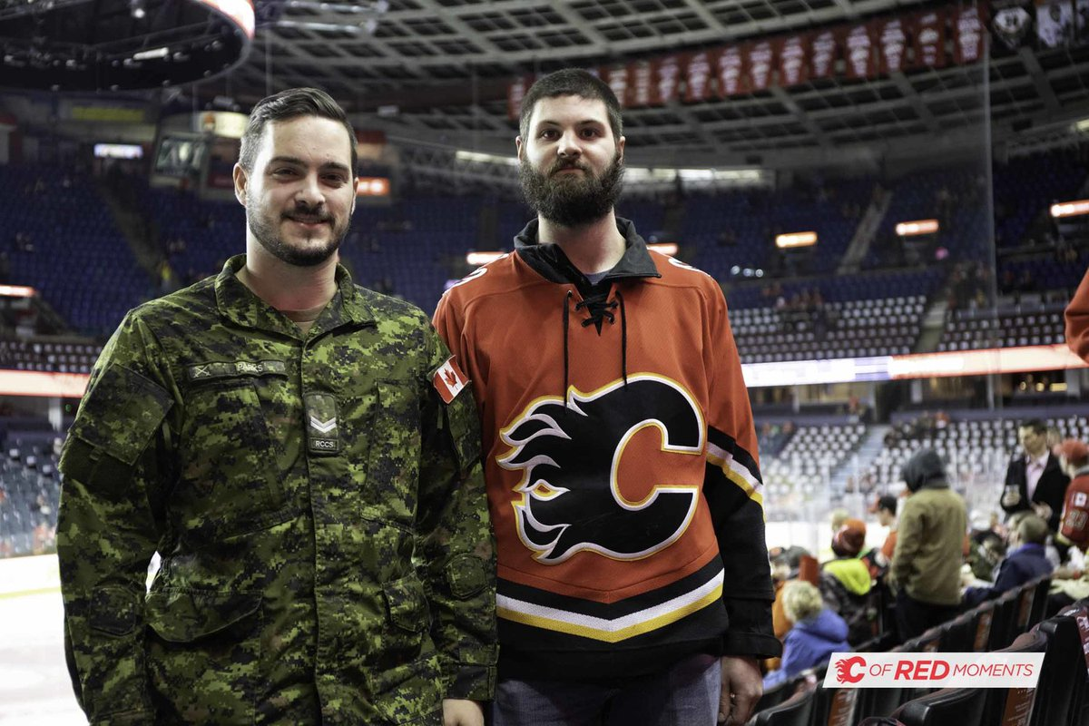 Were you at tonight's game? See if you made it into our #CofRed Moments gallery and download your photo ~ https://t.co/w4oQYC5sDu  #CARvsCGY | #Flames
