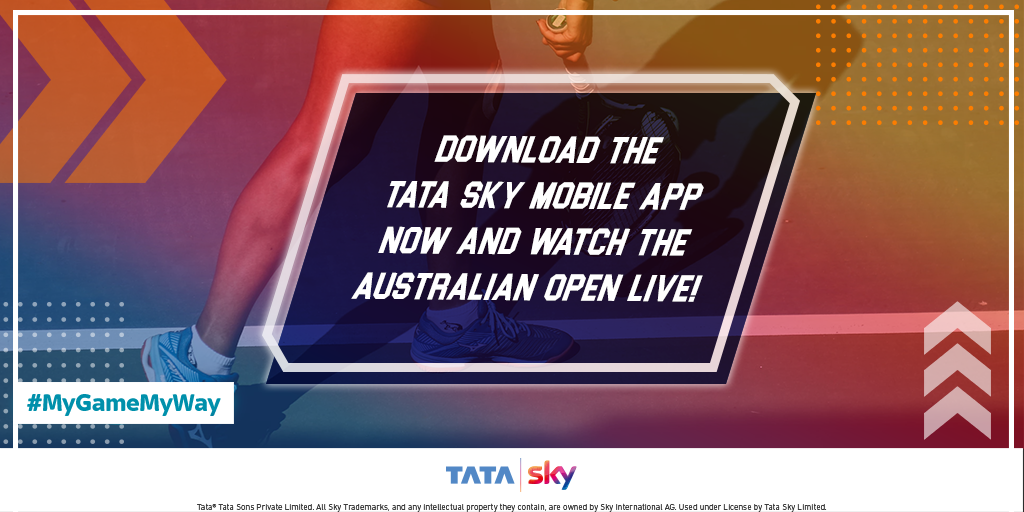 Hope you have answered all the questions right in the #MyGameMyWay contest. Stay tuned to this page for more such exciting contests and updates. Also, cheer for your favourite tennis stars at the #AusOpen on Tata Sky Mobile App http://bit.ly/TS_MobileApp3