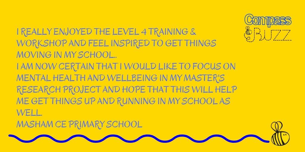 Some fabulous feedback from our school Senior Leaders training & workshop @MashamCEP #mentalhealth #wellbeing #worshop #feedback #NorthYorkshire #schoolspic.twitter.com/xpb9jgk2ht