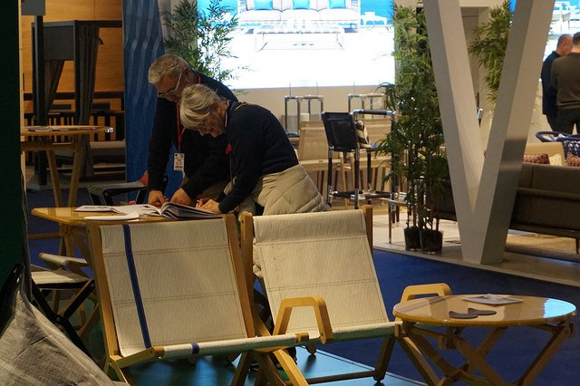 Yesterday ended @MaisonObjet Thank you very much you all that visit us. #design #mobilier #furniture