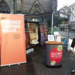We're in Lichfield Square today offering free and impartial energy advice as part of #BESW. Pop down and see us @Lichfield_DC #WarmerHomesGreenerDistrict