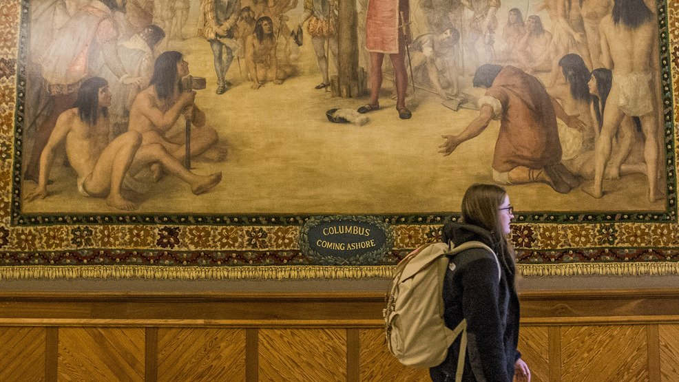 Notre Dame to cover up murals of Columbus in the New World https://t.co/KKW9X13QWP