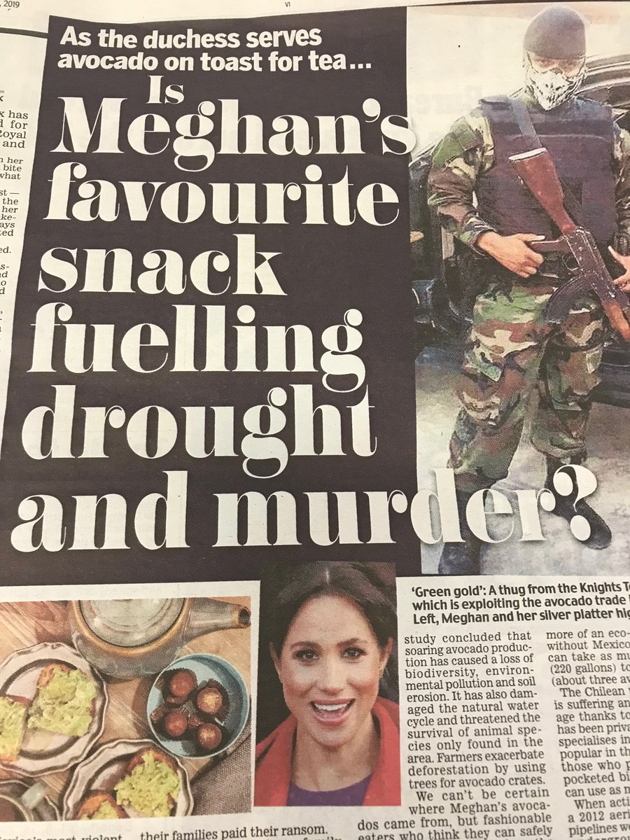 I think we can now say with some certainty that there is nothing the Daily Mail can't blame on Meghan (h/t @AngelaFwrites)