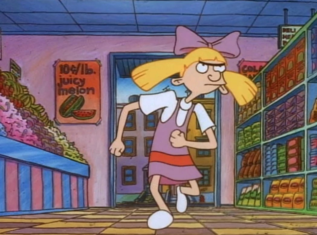 hey arnold helga - HD 1049×778