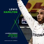 What a season @LewisHamilton had - and @MercedesAMGF1 are up for the World Team of the Year too. Double bubble at #Laureus19? Let us know what you think...