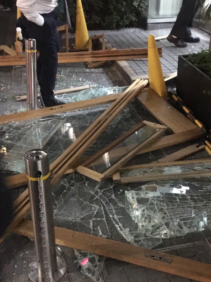 品川区東五反田でカセットボンベ爆発した事故現場の画像