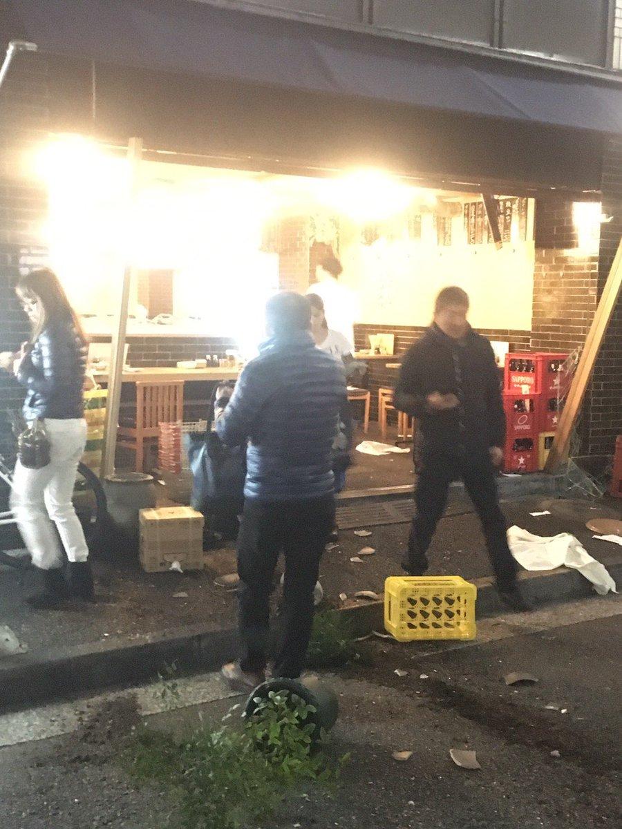 品川区東五反田で爆発事故が起きた現場画像